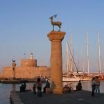 Mandraki prístav Rodos