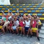 Animační tým v Řecku