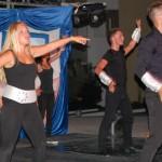 Markéta během večerní taneční show