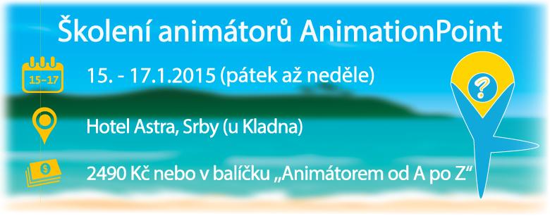 Školení animátorů AnimationPoint 15.1. - 17.1.2016
