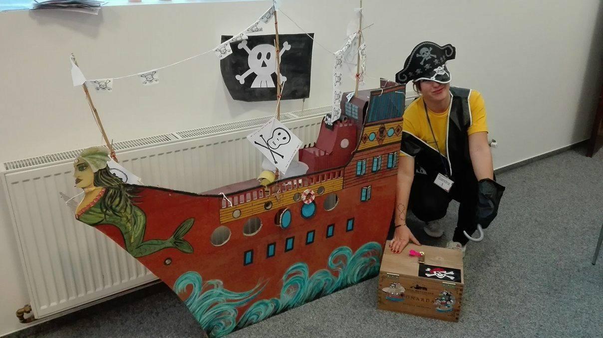 Animátorka AnimationPoint Sandra - pirátský den