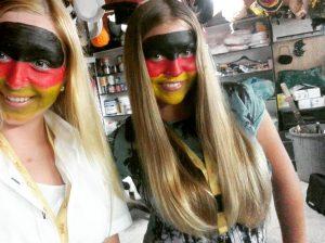 Facepainting - german face