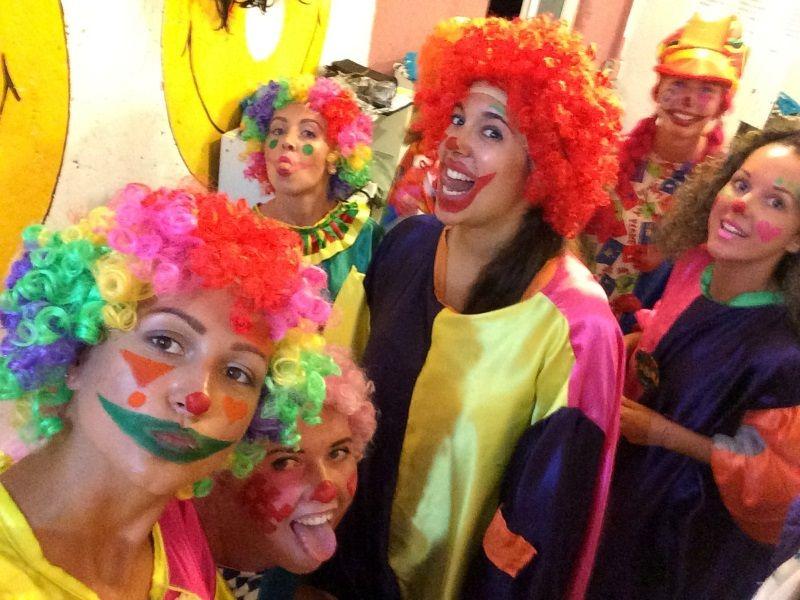 Cirkus show backstage