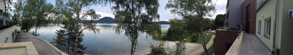 Hotel Port a Máchovo jezero panorama