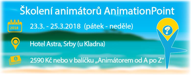 Školení animátorů AnimationPoint - březen 2018