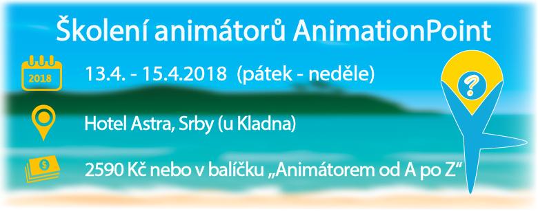 Školení animátorů AnimationPoint - duben 2018