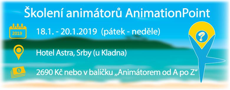 Školení animátorů AnimationPoint leden 2019