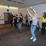 Animační klubový tanec na castingu