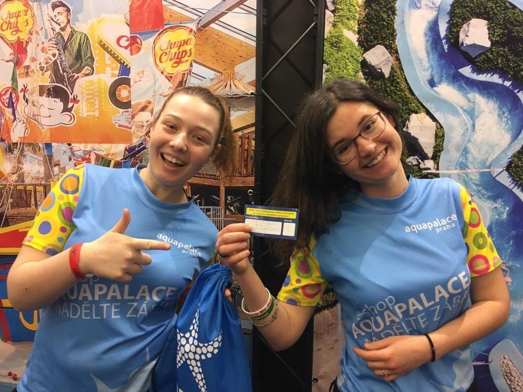 Polly a Mária ve spolupráci s Aquapalace Praha