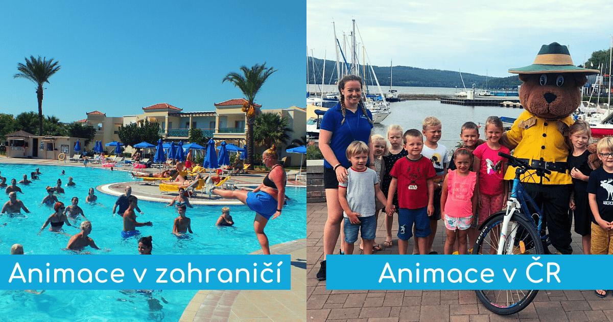 Animátor v zahraničí vs. Animátor ČR