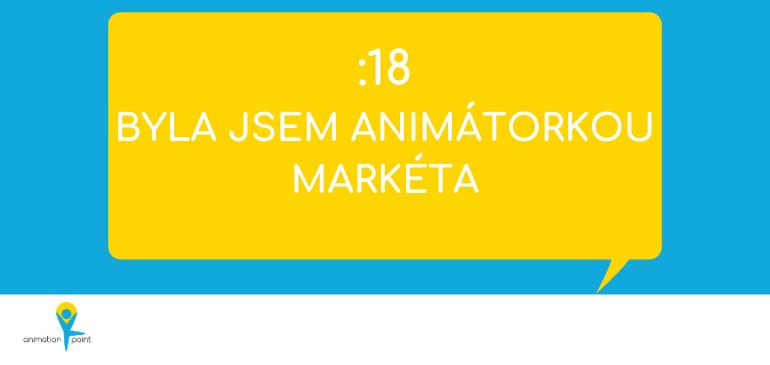 Byla jsem animátorkou - Markéta - náhled webu